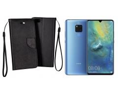 Manager dėklas Huawei Mate 20 mobiliesiems telefonams juodos spalvos