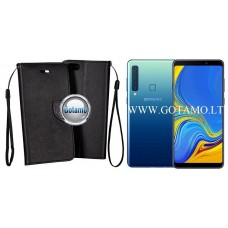 Manager dėklas Samsung Galaxy A9 (2018) mobiliesiems telefonams juodos spalvos Kaunas | Klaipėda | Klaipėda