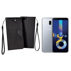 Manager dėklas Samsung Galaxy J6+ (2018) mobiliesiems telefonams juodos spalvos