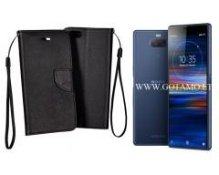 Manager dėklas Sony Xperia 10 Sony Xperia XA3 mobiliesiems telefonams juodos spalvos