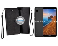 Manager dėklas Xiaomi Redmi 7A mobiliesiems telefonams juodos spalvos