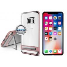 Mercury Dream silikoninis dėklas su atrama Apple iPhone X Xs telefonams rožinės spalvos Plungė | Vilnius | Klaipėda