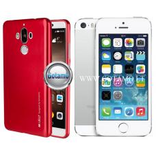 Mercury i-Jelly dėklas nugarėlė Apple iPhone 5 5s SE telefonui metalic raudonos spalvos Plungė | Kaunas | Vilnius
