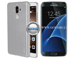 Mercury i-Jelly dėklas nugarėlė Samsung Galaxy S7 telefonui metalic sidabro spalvos