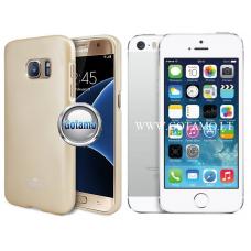 Mercury Jelly dėklas nugarėlė Apple iPhone 5 5s SE telefonui aukso spalvos Kaunas | Plungė | Šiauliai
