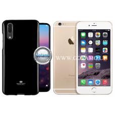 Mercury Jelly dėklas nugarėlė Apple iPhone 6 Plus 6s Plus telefonui juodos spalvos Kaunas | Kaunas | Plungė