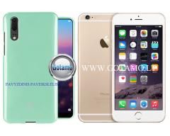 Mercury Jelly dėklas nugarėlė Apple iPhone 6 Plus 6s Plus telefonui mėtinės spalvos