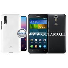 Mercury Jelly dėklas nugarėlė Huawei Y5 telefonui baltos spalvos Plungė | Palanga | Klaipėda