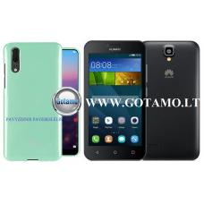 Mercury Jelly dėklas nugarėlė Huawei Y5 telefonui mėtinės spalvos Kaunas | Palanga | Šiauliai