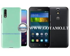 Mercury Jelly dėklas nugarėlė Huawei Y5 telefonui mėtinės spalvos