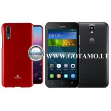 Mercury Jelly dėklas nugarėlė Huawei Y5 telefonui raudonos spalvos Vilnius | Kaunas | Klaipėda