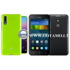 Mercury Jelly dėklas nugarėlė Huawei Y5 telefonui salotinės spalvos
