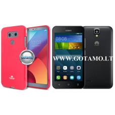 Mercury Jelly dėklas nugarėlė Huawei Y5 telefonui tamsiai rožinės spalvos Telšiai | Palanga | Klaipėda