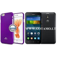 Mercury Jelly dėklas nugarėlė Huawei Y5 telefonui violetinės spalvos Telšiai | Vilnius | Vilnius