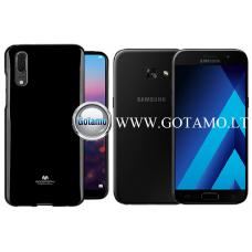 Mercury Jelly dėklas nugarėlė Samsung Galaxy A3 (2017) telefonui juodos spalvos Kaunas | Plungė | Palanga