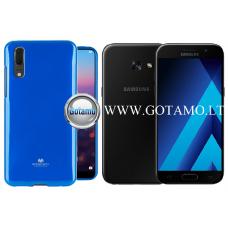Mercury Jelly dėklas nugarėlė Samsung Galaxy A3 (2017) telefonui mėlynos spalvos Kaunas | Klaipėda | Telšiai