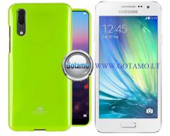 Mercury Jelly dėklas nugarėlė Samsung Galaxy A3 telefonui salotinės spalvos