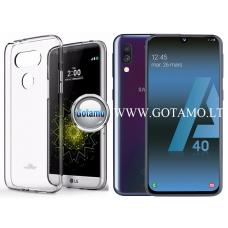 Mercury Jelly dėklas nugarėlė Samsung Galaxy A40 telefonui skaidrus Klaipėda | Telšiai | Telšiai
