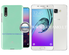 Mercury Jelly dėklas nugarėlė Samsung Galaxy A5 (2016) telefonui mėtinės spalvos