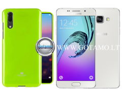 Mercury Jelly dėklas nugarėlė Samsung Galaxy A5 (2016) telefonui salotinės spalvos