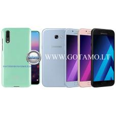 Mercury Jelly dėklas nugarėlė Samsung Galaxy A5 (2017) telefonui mėtinės spalvos Telšiai | Klaipėda | Šiauliai