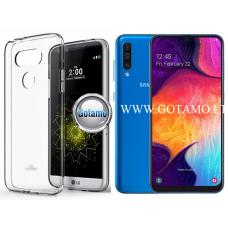 Mercury Jelly dėklas nugarėlė Samsung Galaxy A50 telefonui skaidrus Vilnius | Plungė | Klaipėda