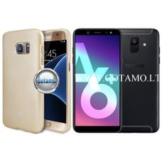 Mercury Jelly dėklas nugarėlė Samsung Galaxy A6+ (2018) telefonui aukso spalvos Plungė | Plungė | Kaunas