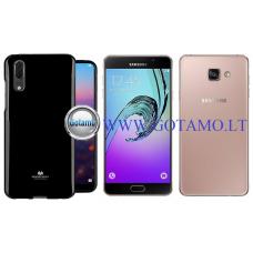 Mercury Jelly dėklas nugarėlė Samsung Galaxy A7 (2016) telefonui juodos spalvos Šiauliai   Kaunas   Palanga