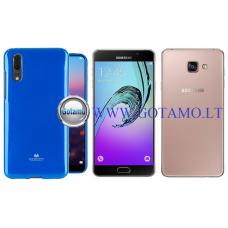 Mercury Jelly dėklas nugarėlė Samsung Galaxy A7 (2016) telefonui mėlynos spalvos Vilnius | Klaipėda | Telšiai