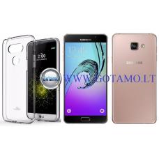 Mercury Jelly dėklas nugarėlė Samsung Galaxy A7 (2016) telefonui skaidrus Palanga | Vilnius | Šiauliai