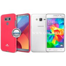 Mercury Jelly dėklas nugarėlė Samsung Galaxy Grand Prime telefonui tamsiai rožinės spalvos Plungė | Palanga | Palanga