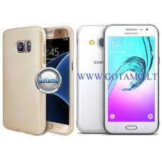 Mercury Jelly dėklas nugarėlė Samsung Galaxy J3 (2016) telefonui aukso spalvos Palanga | Plungė | Kaunas