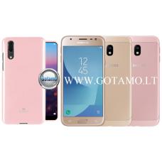 Mercury Jelly dėklas nugarėlė Samsung Galaxy J3 (2017) telefonui rožinės spalvos Telšiai | Vilnius | Plungė