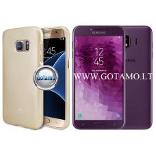 Mercury Jelly dėklas nugarėlė Samsung Galaxy J4 (2018) telefonui aukso spalvos Vilnius | Kaunas | Plungė