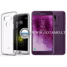 Mercury Jelly dėklas nugarėlė Samsung Galaxy J4 (2018) telefonui skaidrus Klaipėda | Šiauliai | Vilnius