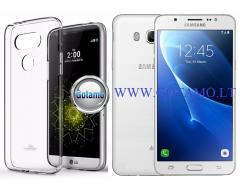 Mercury Jelly dėklas nugarėlė Samsung Galaxy J5 (2016) telefonui skaidrus