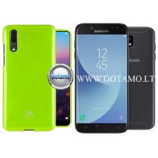 Mercury Jelly dėklas nugarėlė Samsung Galaxy J5 (2017) telefonui salotinės spalvos