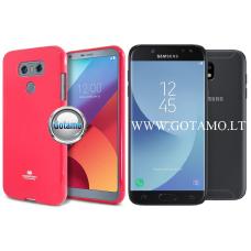Mercury Jelly dėklas nugarėlė Samsung Galaxy J5 (2017) telefonui tamsiai rožinės spalvos Vilnius | Kaunas | Kaunas