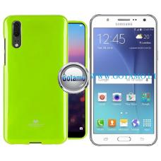 Mercury Jelly dėklas nugarėlė Samsung Galaxy J5 telefonui salotinės spalvos