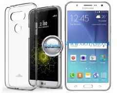 Mercury Jelly dėklas nugarėlė Samsung Galaxy J5 telefonui skaidrus