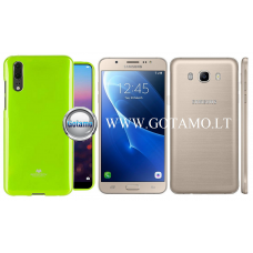 Mercury Jelly dėklas nugarėlė Samsung Galaxy J7 (2016) telefonui salotinės spalvos Plungė | Palanga | Klaipėda
