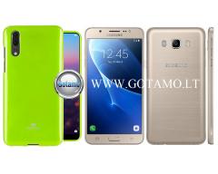 Mercury Jelly dėklas nugarėlė Samsung Galaxy J7 (2016) telefonui salotinės spalvos