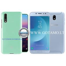 Mercury Jelly dėklas nugarėlė Samsung Galaxy J7 (2017) telefonui mėtinės spalvos Kaunas | Klaipėda | Telšiai