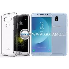 Mercury Jelly dėklas nugarėlė Samsung Galaxy J7 (2017) telefonui skaidrus Vilnius | Telšiai | Kaunas