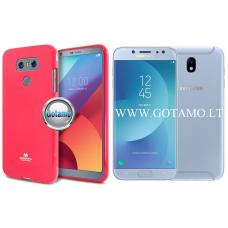 Mercury Jelly dėklas nugarėlė Samsung Galaxy J7 (2017) telefonui tamsiai rožinės spalvos Plungė | Šiauliai | Palanga