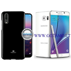Mercury Jelly dėklas nugarėlė Samsung Galaxy Note 5 telefonui juodos spalvos Telšiai | Telšiai | Šiauliai