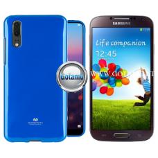 Mercury Jelly dėklas nugarėlė Samsung Galaxy S4 telefonui mėlynos spalvos