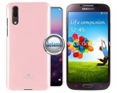 Mercury Jelly dėklas nugarėlė Samsung Galaxy S4 telefonui rožinės spalvos