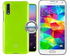 Mercury Jelly dėklas nugarėlė Samsung Galaxy S5 S5 Neo telefonui salotinės spalvos