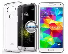 Mercury Jelly dėklas nugarėlė Samsung Galaxy S5 S5 Neo telefonui skaidrus